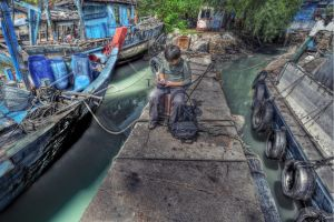 fishing village-4 by SAMLIM