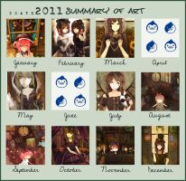 2011 art summary by Xsaye