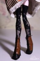 [OOAK Monster High] - Shoes and stockings by Hidanna