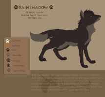Rainshadow ref by DawnFrost