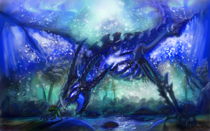 Frost wyrm by Reinder88