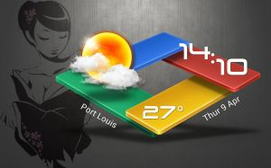 3D Rhombus Widget HD for xwidget by jimking