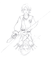 OC:(nameless Arthur-type hero) by LordByrand
