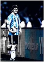Lionel Messi by sgea