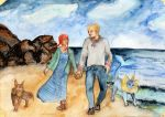 Walk On The Beach by Jenniej92