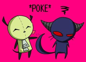 POKE by caboosemcgrief