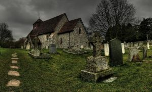The Church Yard by wreck-photography