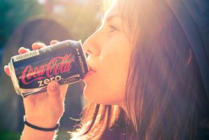Coke zero by tessatarr