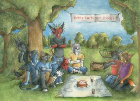 Happy Birthday Hirui by redderz