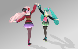 Miku and Luka Magnet PDExt. by bookazoid