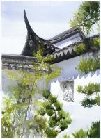 Chinese Pavilion by polkapills