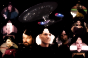 The Finest Crew In Starfleet Wallpaper by SailorTrekkie92