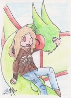 Me and my Flygon -ID- by Yakalentos