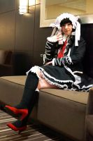Celestia Ludenberg at CON-G #3 by Lightning--Baron