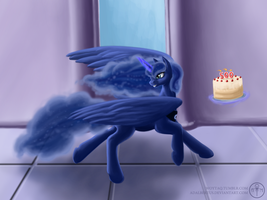 There was a cake, but Luna took it by Adalbertus