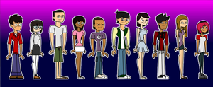 Total Drama Studio Cast by gus-val