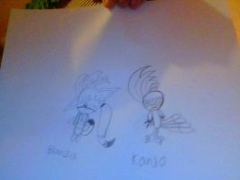 Banza And Kanjo by my Little sister by Metylover2143