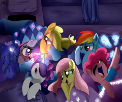 The sleepover by MissPolycysticOvary
