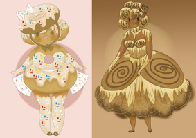 Sweet Pastery Girls Adoptables by Ask-MusicPrincess3rd