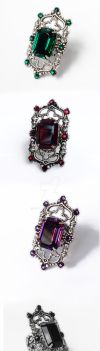 Gothic Cathedral Ring by Aranwen