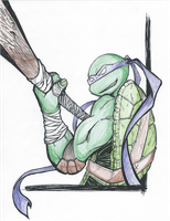 Donatello- Shading Pratice #1 by TheYUO