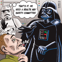 Star Wars Cartoon for COPE-378 by Huwman