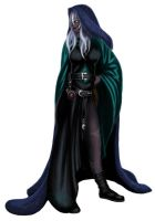 Aruhaniel the Drow by Tionniel
