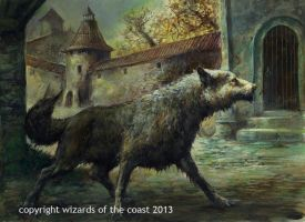 watch wolf by Dave-Kendall