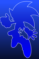 Sonic iPhone Wallpaper by BlueLightning50