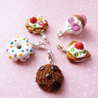 cute pink charms by lemon-lovely