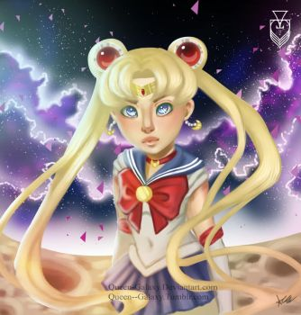 Sailor Moon by Queen-Galaxy