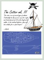 The Roronoas: Cutter mk. III Blueprints by ellysketchit