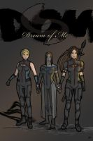 DoM Girls - costume ref by DianaHold