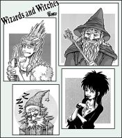 Wizards and witches by lpspalmer