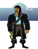 Captain Hook by Salvador-Raga