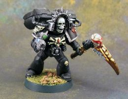 Death Company Chaplain by Girot