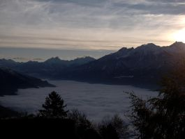 River of clouds by bellaricca