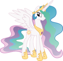 Royal Celestia Vector by NoNamePaperArchive