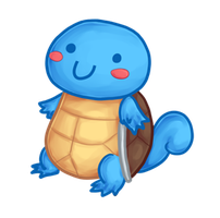 Squirtle by DiseasedCandy