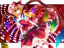 flandre scarlet-Touhou by miacis83