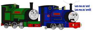 TTTE - Sir Handel as Scrappy Doo by Percyfan94