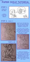 Paper Child Tutorial by Pimmy