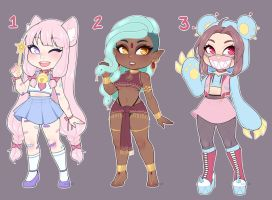 Adopts Batch #5 (CLOSED) by LunaOfWater