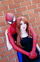 Spidey and MJ by GingerZombeh