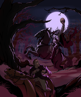 The Headless Horseman Rides by brianboyster