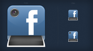 Facebook Photo Browser icons by FBED