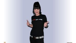 Pauley Perrette I love my Job by Dave-Daring