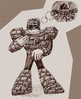 MM5 - Stone Man by tonkonton