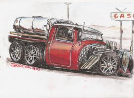 Hot Fuel Tank by HorcikDesigns