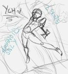 Ych - Jumping with Weapon [2 SLOTS OPEN] by AdrenalineXAngel